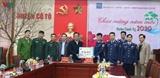 1-ое региональное командование морской полиции организовало предновогоднюю программу