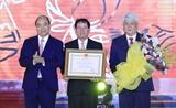 Thủ tướng Chính phủ Nguyễn Xuân Phúc dự lễ kỷ niệm 120 năm thành lập tỉnh Trà Vinh