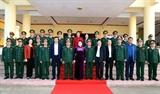 Председатель НС Нгуен Тхи Ким Нган посетила Военное командование провинции Даклак по случаю наступающего Тэта