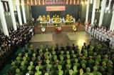 Đảng ủy Công an Trung ương Bộ Công an tổ chức trọng thể Lễ tang 3 liệt sỹ hy sinh tại Đồng Tâm