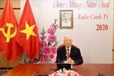 Conversation téléphonique entre Nguyen Phu Trong et Xi Jinping