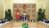 Thủ tướng Nguyễn Xuân Phúc chủ trì họp Tiểu ban Kinh tế-Xã hội của Đại hội Đảng lần thứ XIII