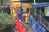 Tái hiện nghi lễ Tống cựu nghinh tân tại Hoàng thành Thăng Long