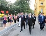 Поздравительные телеграммы по случаю 70-летия установления дипломатических отношений между Вьетнамом и Китаем