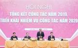 응웬쑤언푹 총리 중앙경제위원회 결산회의 참석