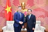 Vicepresidente del Parlamento vietnamita recibe a la delegación estadounidense