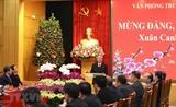 Руководители Партии и НС Вьетнама посетили местности по случаю наступающего Тэта