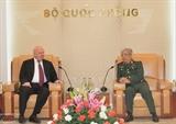 Замминистра обороны Вьетнама принял российского посла