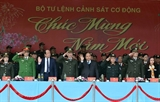 PM inspects combat readiness of mobile police force