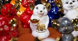 Tượng chuột Phú Quý - Linh vật năm Canh Tý 2020
