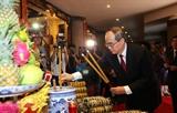 В городе Хошимине прошёл ритуал преподнесения пирогов Тэт королям Хунгам