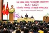 총리 해외에서 거주하는 베트남 교민의 조국에 대한 따뜻한 정서를 가지고 있다.