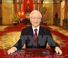 Поздравление по случаю Тэта от Генерального секретаря ЦК КПВ Президента Вьетнама Нгуен Фу Чонга