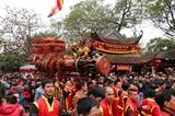 Tưng bừng lễ hội rước pháo Đồng Kỵ
