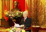 Mensaje del máximo dirigente sobre la asunción de Vietnam de los nuevos cargos en mecanismos multilaterales