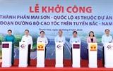 Thủ tướng Nguyễn Xuân Phúc phát lệnh khởi công cao tốc Mai Sơn – Quốc lộ 45