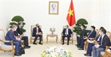 Thủ tướng Nguyễn Xuân Phúc tiếp Bộ trưởng Ngoại giao và Phát triển Anh Dominic Raab