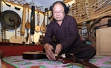 A passion for traditional musical instruments