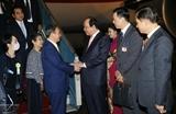 Премьер-министр Японии Ёсихидэ Суга начал свой визит во Вьетнам