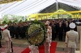 Церемония прощания с офицерами и солдатам погибшими в результате оползня в Тхыатхиен-Хюэ
