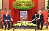 Генсек ЦК КПВ: Вьетнам считает Японию ведущим долгосрочным партнером