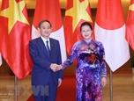 Председатель Национального собрания встретилась с премьер-министром Японии