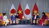 Thủ tướng Nhật Bản Suga Yoshihide kết thúc chuyến thăm chính thức Việt Nam