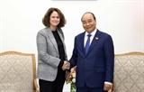 フック首相、WBベトナム所長と懇談