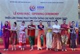 В Ханое открылась выставка традиционных костюмов АСЕАН