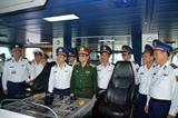 Ngày hội đua tài của những con tàu Cảnh sát biển