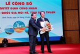 Công bố Khu du lịch quốc gia Mũi Né Bình Thuận