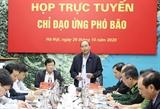 Thủ tướng Nguyễn Xuân Phúc chỉ đạo ứng phó với bão số 9: Bằng mọi cách di dời người và tài sản đến nơi an toàn