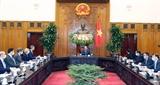 Thủ tướng Nguyễn Xuân Phúc tiếp Tổng Giám đốc Cơ quan Phát triển Tài chính Quốc tế Hoa Kỳ