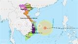 Ураган Молаве быстро приближается к центральной береговой линии утром 28 октября