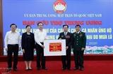 Более 11 млн. долл. США передано центральному региону через Отечественный фронт Вьетнама