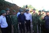 Phó Thủ tướng Trịnh Đình Dũng trực tiếp chỉ đạo tìm kiếm cứu nạn vụ sạt lở tại Nam Trà My - Quảng Nam