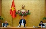 Премьер Вьетнама провел очередное совещание с членами правительства