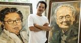 Khắc họa chân dung những nghệ sĩ nổi tiếng