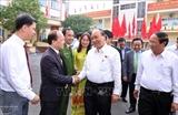 Премьер-министр Нгуен Суан Фук встретился с избирателями города Хайфона