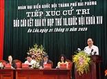 Thủ tướng Nguyễn Xuân Phúc tiếp xúc cử tri huyện An Lão Hải Phòng