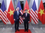 Phó Thủ tướng Bộ trưởng Ngoại giao Phạm Bình Minh hội đàm với Cố vấn An ninh quốc gia Hoa Kỳ