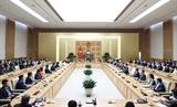Thủ tướng Nguyễn Xuân Phúc gặp mặt doanh nghiệp Thương hiệu quốc gia Việt Nam 2020