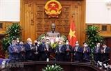 Премьер-министр принял бывшего вице-канцлера ФРГ