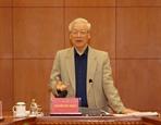 응웬푸쫑 공산당 서기장 국가주석 주요 부패사건 신속히 수사해야