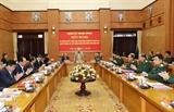Tổng Bí thư Chủ tịch nước Nguyễn Phú Trọng chủ trì Hội nghị của Quân ủy Trung ương