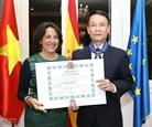 Генеральный директор ВИА награжден испанским орденом За гражданские заслуги