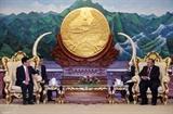 Заместитель премьер-министра Фам Бинь Минь встретился с высшим руководством Лаоса