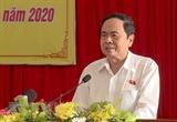 Председатель ОФВ поздравил руководителей Лаоса с 45-м Днем национальной независимости