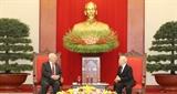Tổng Bí thư Chủ tịch nước Nguyễn Phú Trọng tiếp Đại sứ Liên bang Nga tại Việt Nam