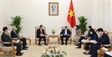 Thủ tướng Nguyễn Xuân Phúc tiếp lãnh đạo Tập đoàn SCG